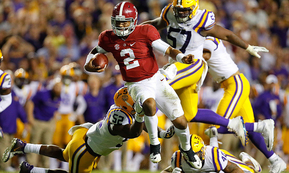 Alabama outlasts LSU 10-0 to remain undefeated