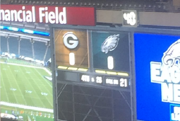 Eagles-packers-scoreboard