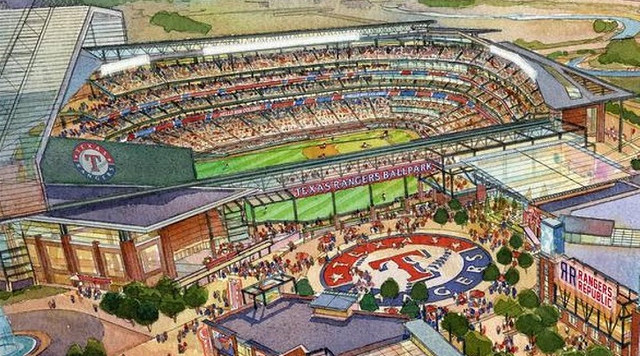 It Looks Like The Texas Rangers Indeed Have A New Ballpark