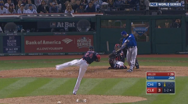 Jon Lester: Two runs score on Lester wild pitch in Game 7