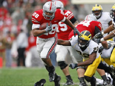 College Football: Ohio State Chris Wells (28) in action, rushing for touchdown vs Michigan. Columbus, OH 11/18/2006 CREDIT: John Biever (Photo by John Biever /Sports Illustrated/Getty Images)