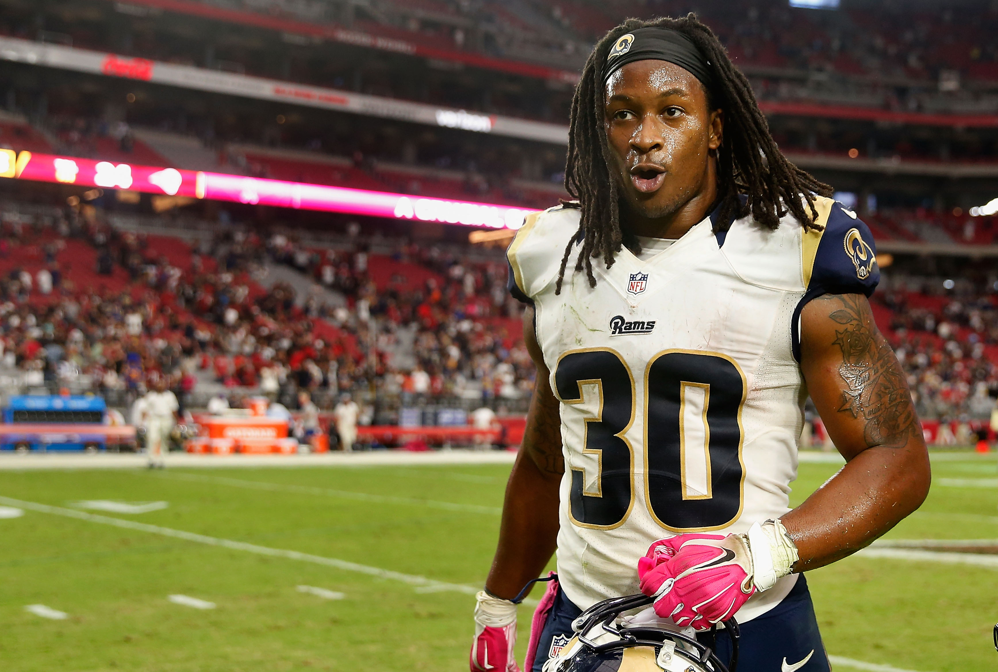 Todd Gurley Invites Angry Fantasy Football Owner To Fight Him