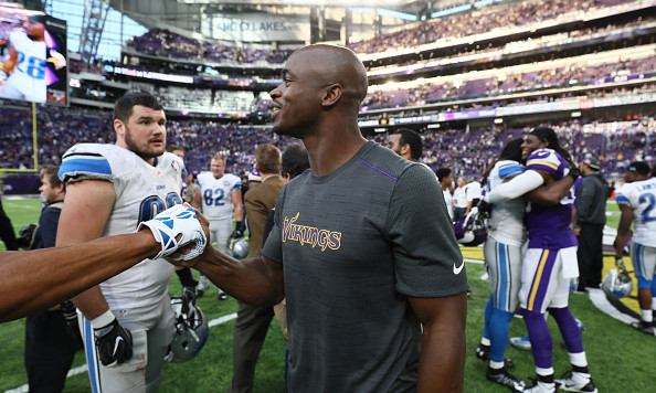 Peterson: Will only return if Vikings still in hunt