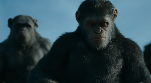 War for the Planet of the Apes Trailer Looks Menacing and Mesmerizing