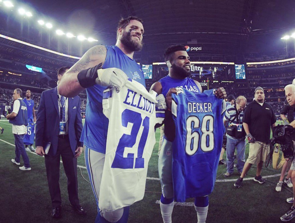 Taylor Decker bashes Darren Rovell for leaving out his name