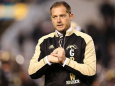 KALAMAZOO, MI - NOVEMBER 25:  head coach P.J. Fleck of the Western Michigan Broncos prior to the game against the Toledo Rockets at Waldo Stadium on November 25, 2016 in Kalamazoo, Michigan. (Photo by Rey Del Rio/Getty Images)