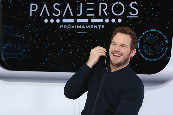 MEXICO CITY, MEXICO - NOVEMBER 03: (EXCLUSIVE COVERAGE) Actor Chris Pratt attends photocall and video chat to promote his new film 'Passengers' at St. Regis Hotel on November 3, 2016 in Mexico City, Mexico. (Photo by Victor Chavez/WireImage)