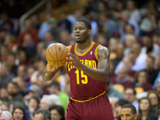 CLEVELAND, OH - OCTOBER 30: Anthony Bennett #15 of the Cleveland Cavaliers looks for a pass against the Brooklyn Nets during the second half at Quicken Loans Arena on October 30, 2013 in Cleveland, Ohio. The Cavaliers defeated the Nets 98-94. NOTE TO USER: User expressly acknowledges and agrees that, by downloading and/or using this photograph, user is consenting to the terms and conditions of the Getty Images License Agreement. (Photo by Jason Miller/Getty Images)