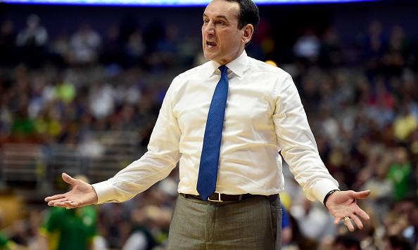 Coach K bans Duke players from wearing school gear, entering locker room