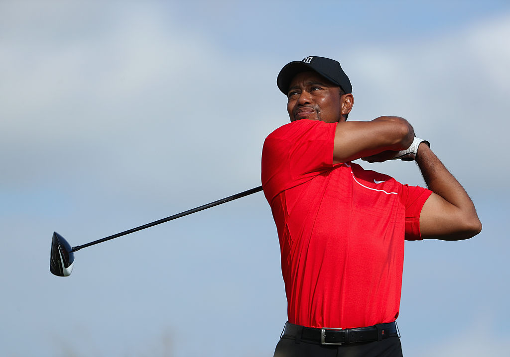 New TaylorMade athlete Tiger Woods