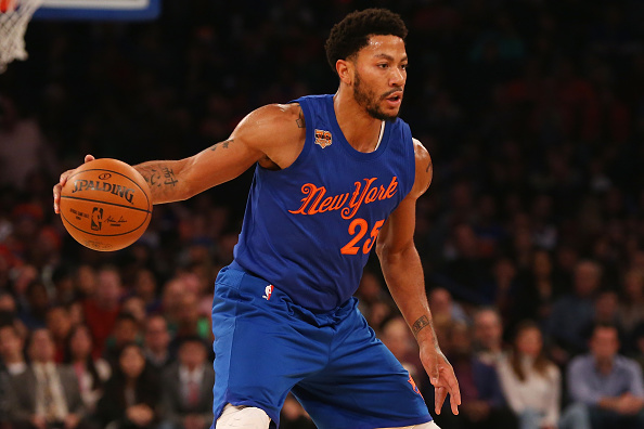 A bizarre story unfolded in the NBA Monday night when Derrick Rose was MIA in New York.