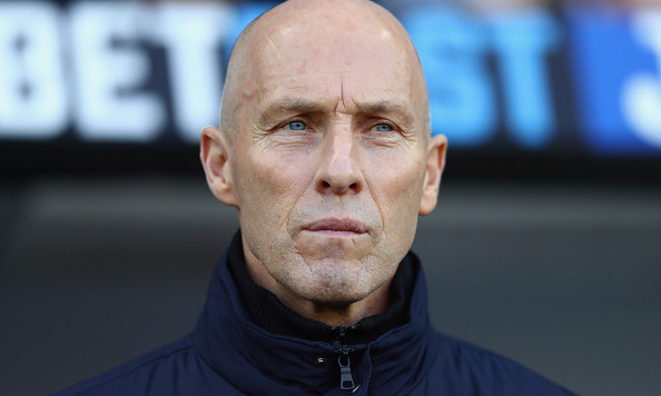 SWANSEA, WALES - DECEMBER 26:  Bob Bradley, Manager of Swansea City looks on during the Premier League match between Swansea City and West Ham United at Liberty Stadium on December 26, 2016 in Swansea, Wales.  (Photo by Michael Steele/Getty Images)