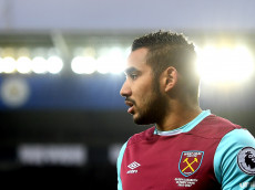 LEICESTER, ENGLAND - DECEMBER 31:  Dimitri Payet of West Ham United looks on during the Premier League match between Leicester City and West Ham United at The King Power Stadium on December 31, 2016 in Leicester, England.  (Photo by Michael Regan/Getty Images)