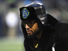 in the NFC Wild Card game at CenturyLink Field on January 7, 2017 in Seattle, Washington.