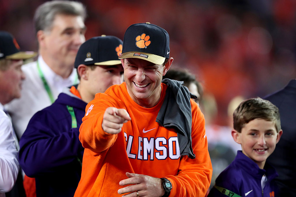 """Dabo Swinney: """"The ACC is the best conference in college ..."""