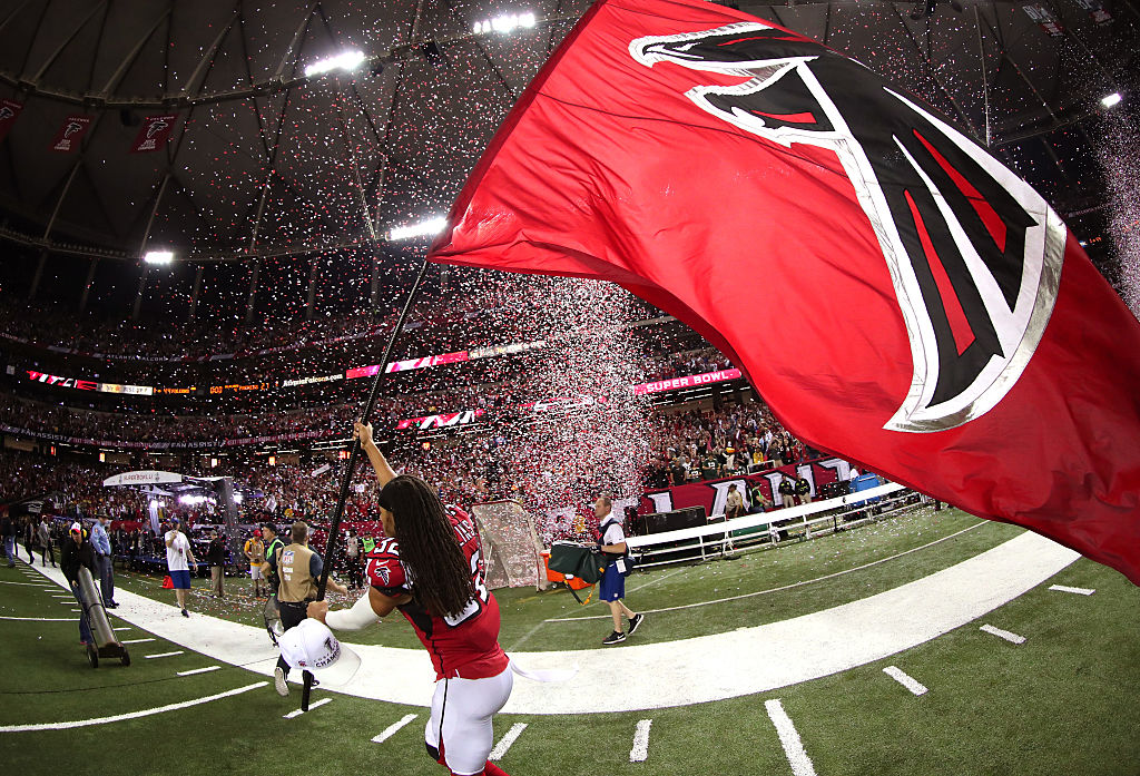 Georgia Dome Falcons