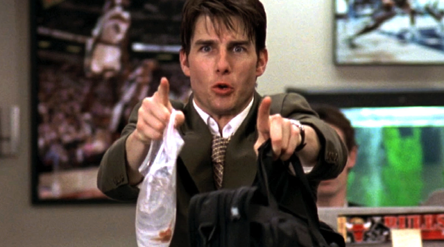 cameron crowes film jerry maguire essay View essay - eng 225 week 5 assignment from english 225 at ashford university jerry maguire (1996) 1 ashford 6: - week 5 - final film critique jerry maguire (1996) 2 jerry maguire (1996) comedy.