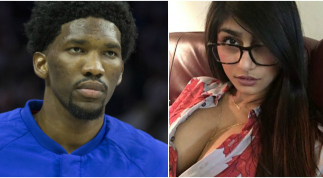 Joel Embiid fires back at trolling porn star
