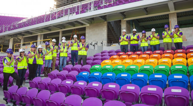 Orlando Soccer Stadium Unveils Rainbow Seats For Pulse Victims