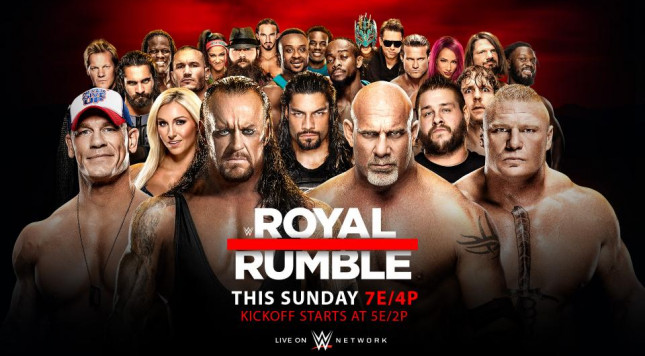 Image result for royal rumble 2017 poster