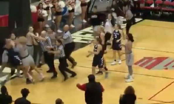 UNLV, Utah State Women's Basketball Brawl Results in 8 Ejections