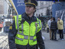 Mark Wahlberg as Tommy Saunders in 'Patriots Day.'