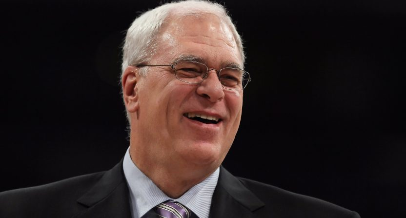Phil Jackson takes to Twitter again, says his Carmelo tweet was 'misunderstood'