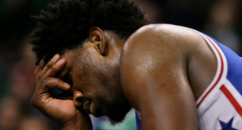 76ers: Embiid out indefinitely, Simmons has minor procedure