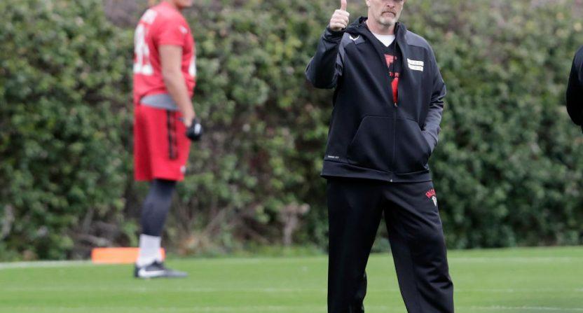 Falcons coach Dan Quinn