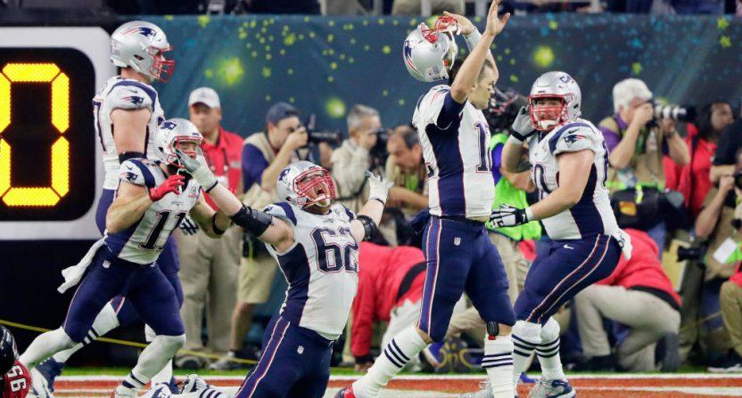 Patriots Brady OT TD