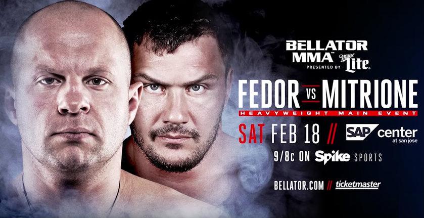 Bellator 172: Fedor vs. Mitrione
