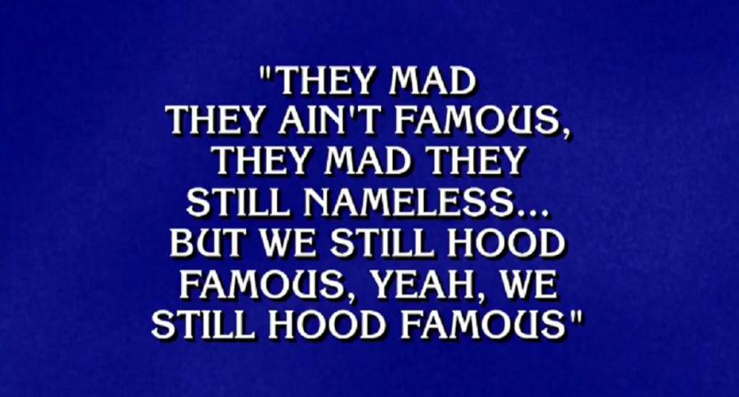 Alex Trebek brings all the flow to Jeopardy rap category