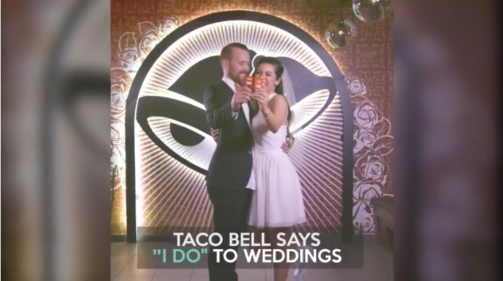 You Can Soon Get Married At A Taco Bell Wedding Chapel