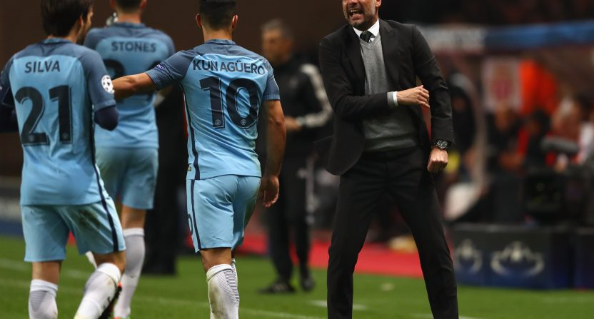Guardiola blames poor first half for Man City's Champions League exit