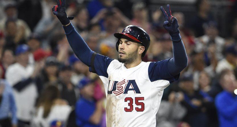 Jones, Hosmer homer to lift U.S. to 4-2 win vs Venezuela