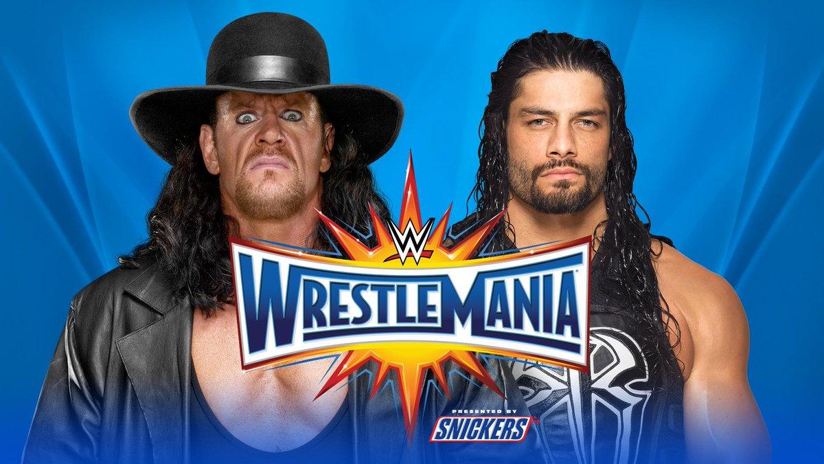 Undertaker Vs Brock Lesnar Wrestlemania 30 Fantasy booking 4 scen...