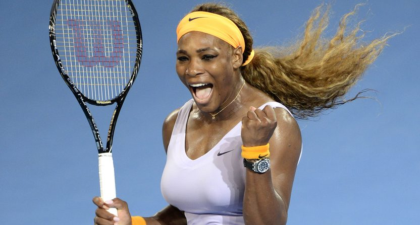 Serena Williams tried to deposit first $1M check at bank drive-thru