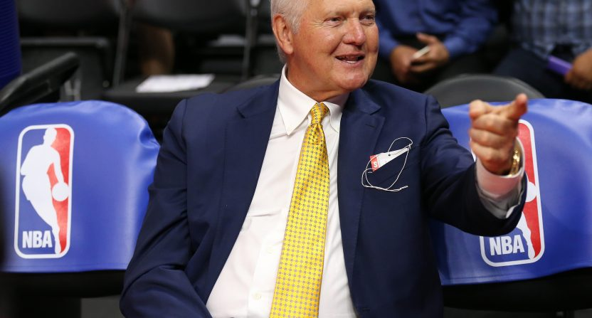 Jerry West wants National Basketball Association to change its logo