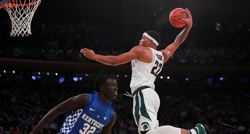 Miles Bridges returns to Michigan State