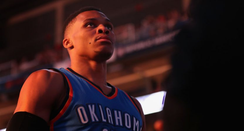 Westbrook Records 41st Triple-Double