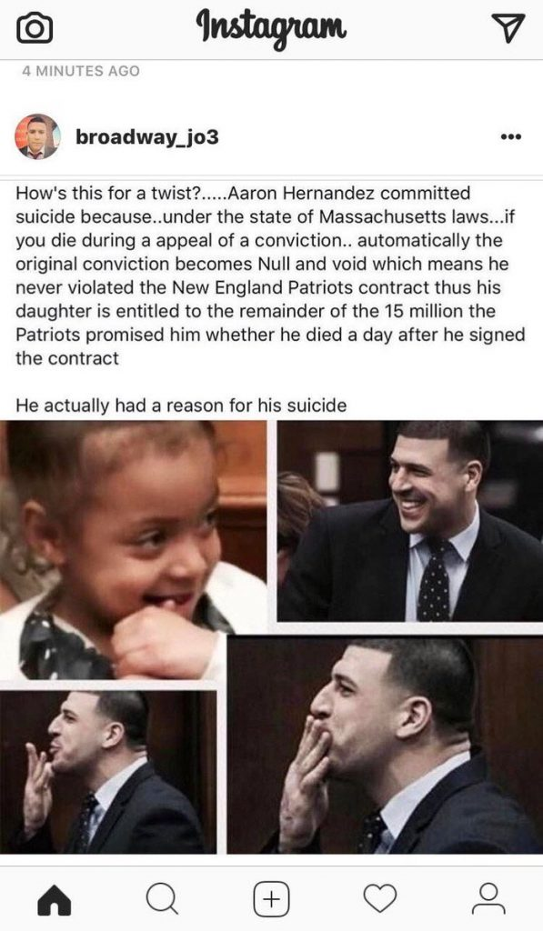 No The Patriots Won T Have To Pay Aaron Hernandez Or His