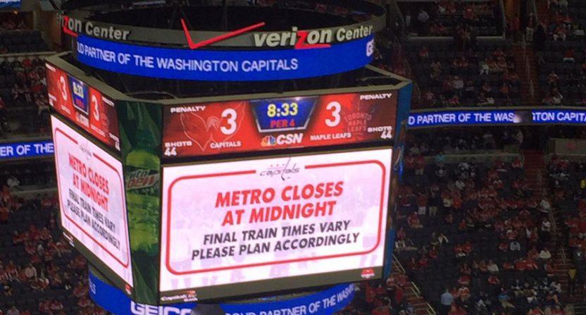 Capitals DC Metro