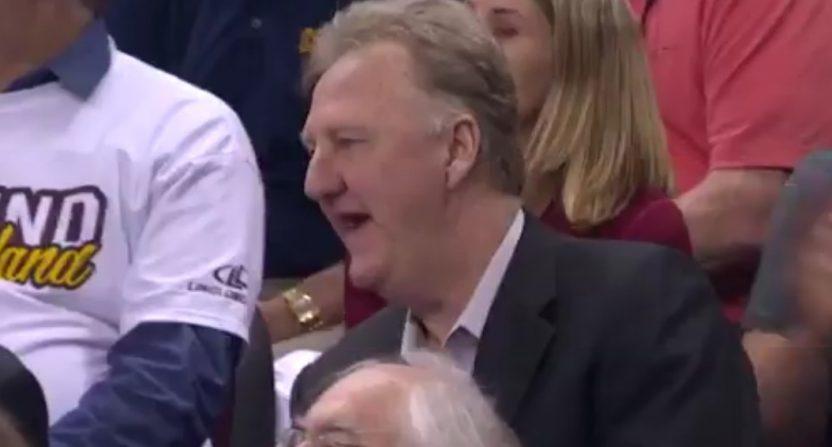 Larry Bird face