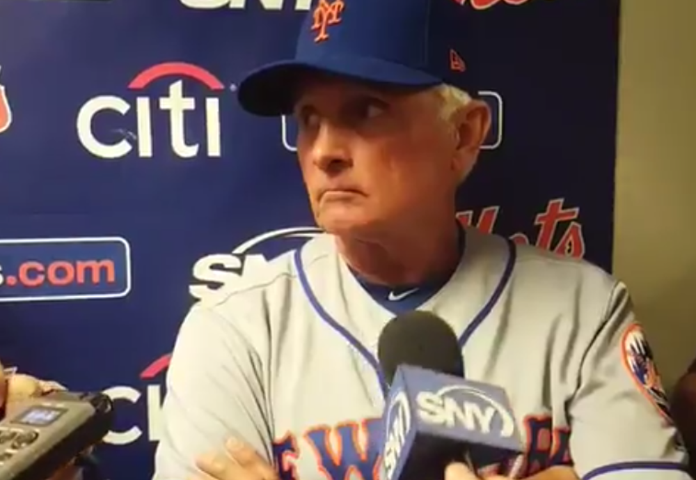 Terry Collins Mets rant Syndergaard