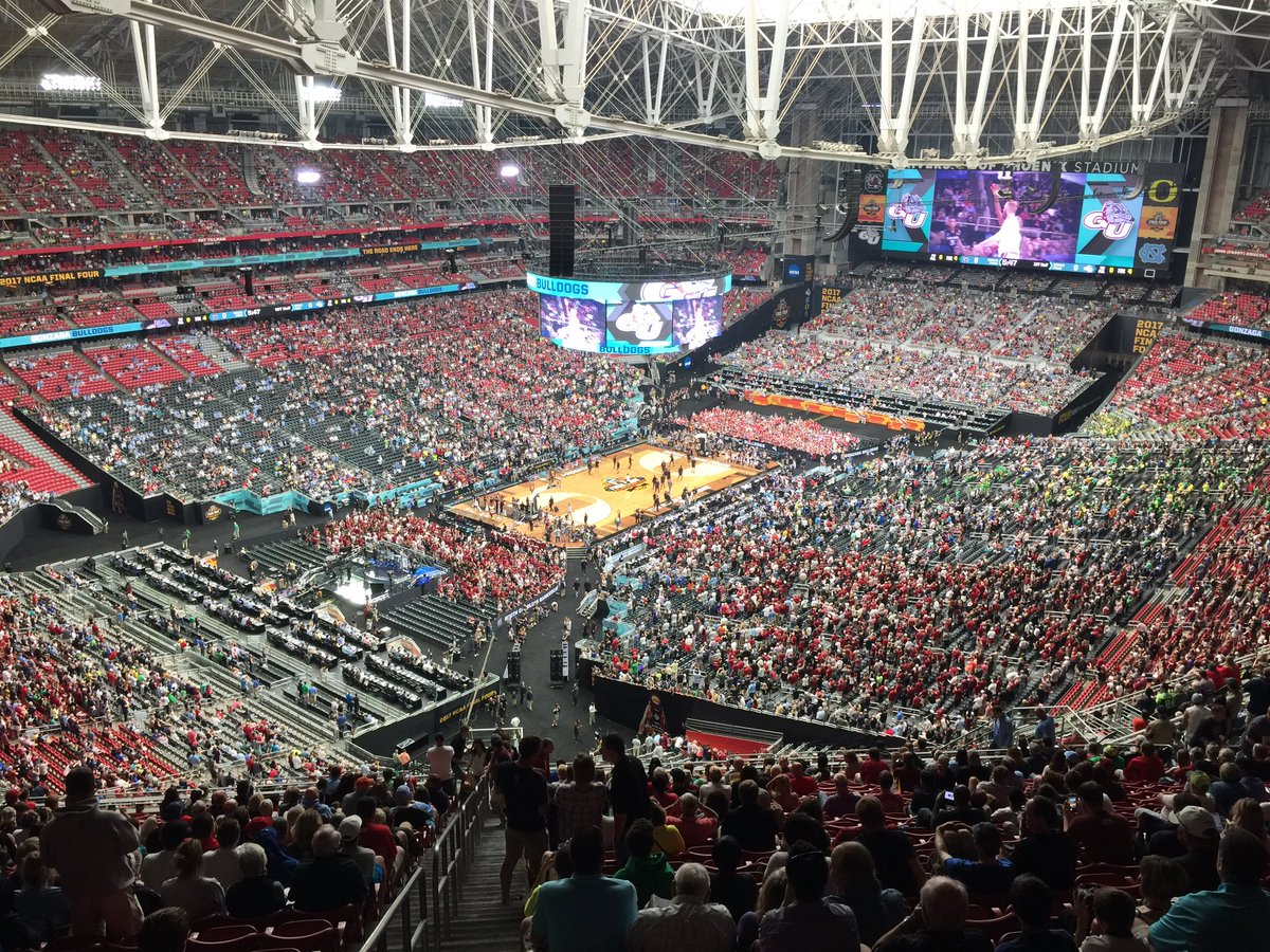 There are no binoculars rentals at this year's Final Four, which could be a problem