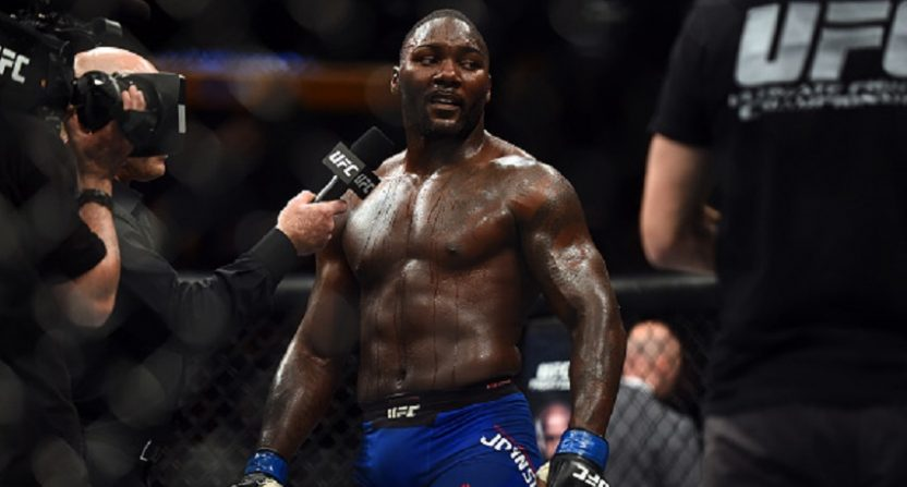 Anthony Johnson Says Goodbye: 'The End of Rumble'