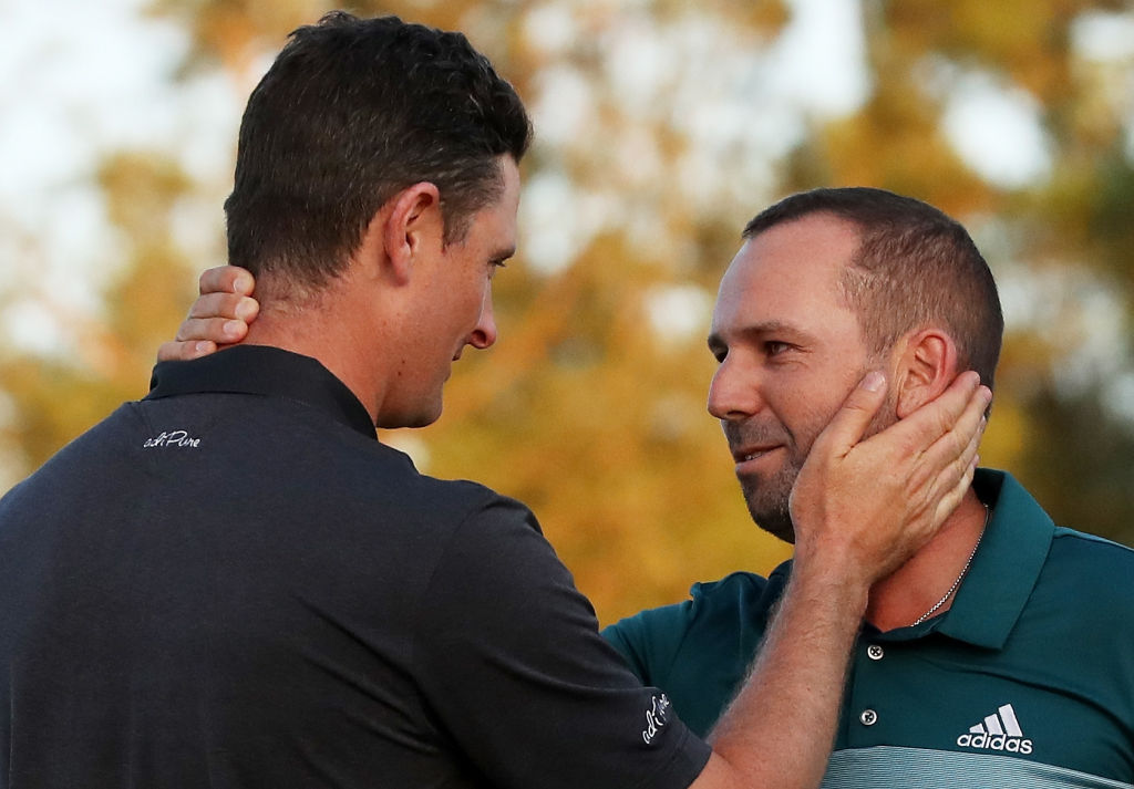 Rich Beem reflects on Sergio Garcia and Justin Rose's battle at Augusta