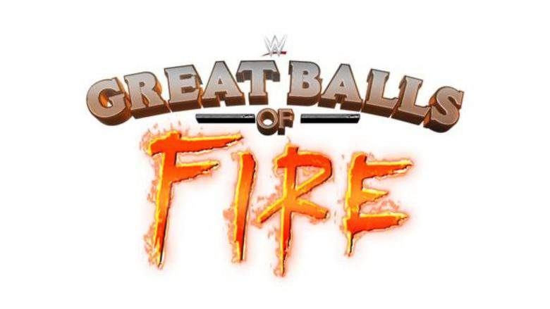 WWE actually, seriously renamed its July PPV to 'Great Balls of Fire'