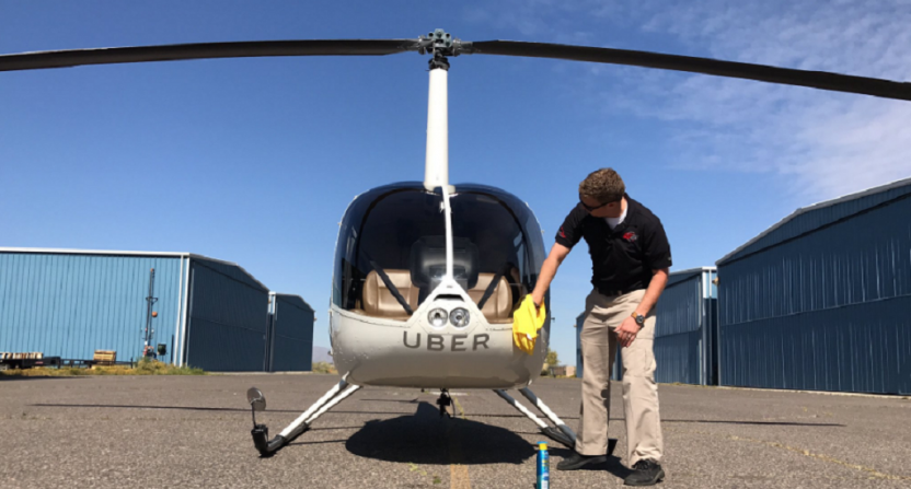 Final Four Attendees Can Get Around Phoenix In Uber Helicopters