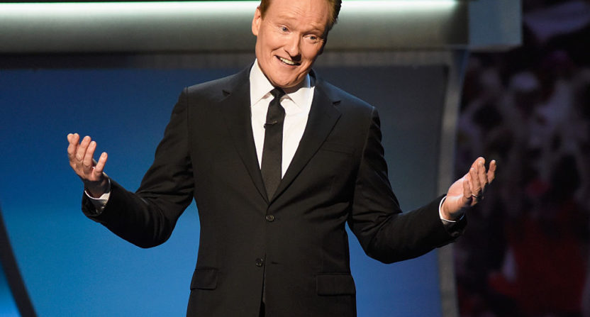 Conan O'Brien Signs a Four-Year Deal with TBS